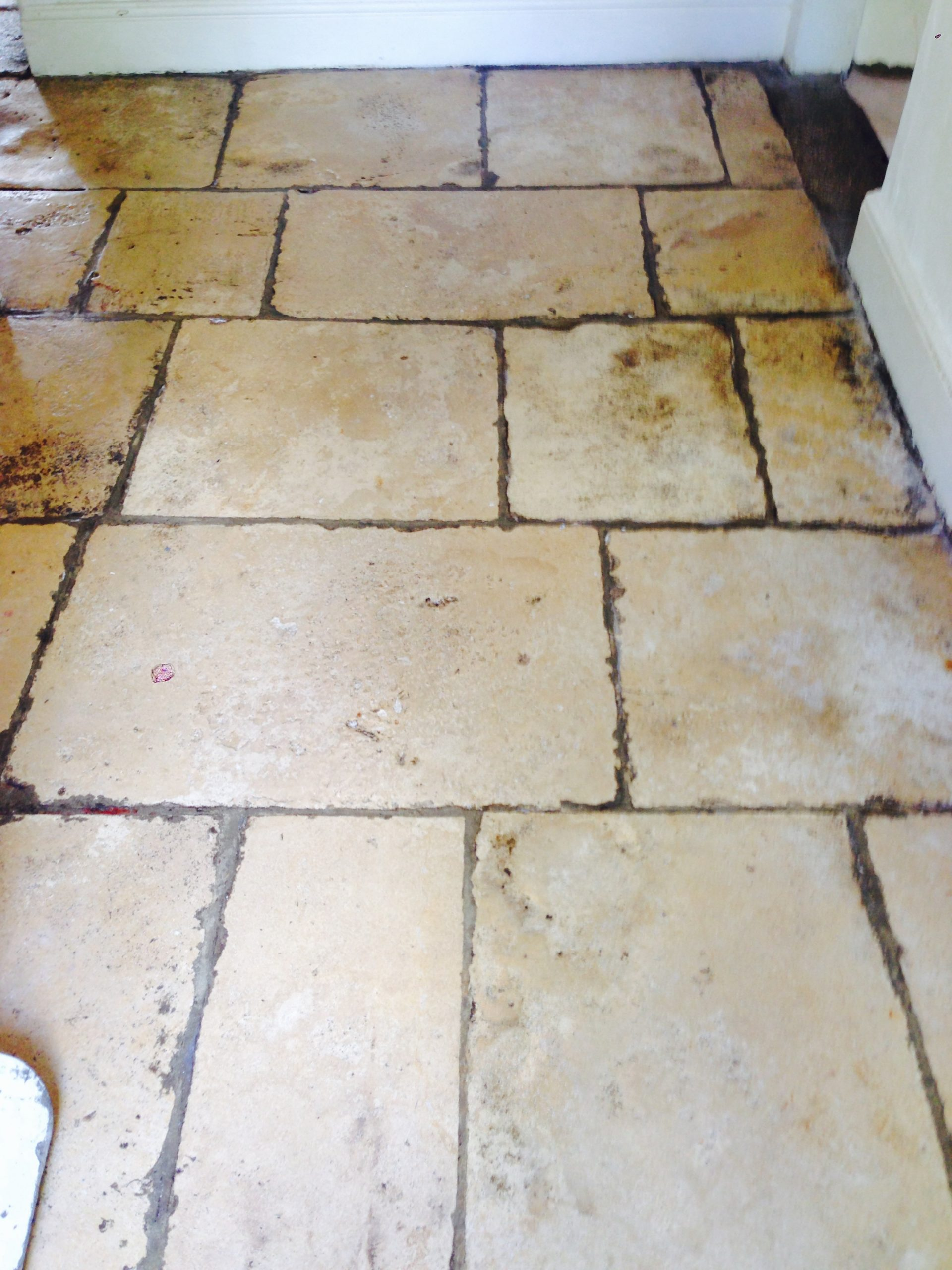 Restoring old cotswold flag stones cotswold stone floor cleaners we used a high specification polymer impregnating similar to highlight the limestones natural character allowing the stone to breathe and adapt to changing dailygadgetfo Images