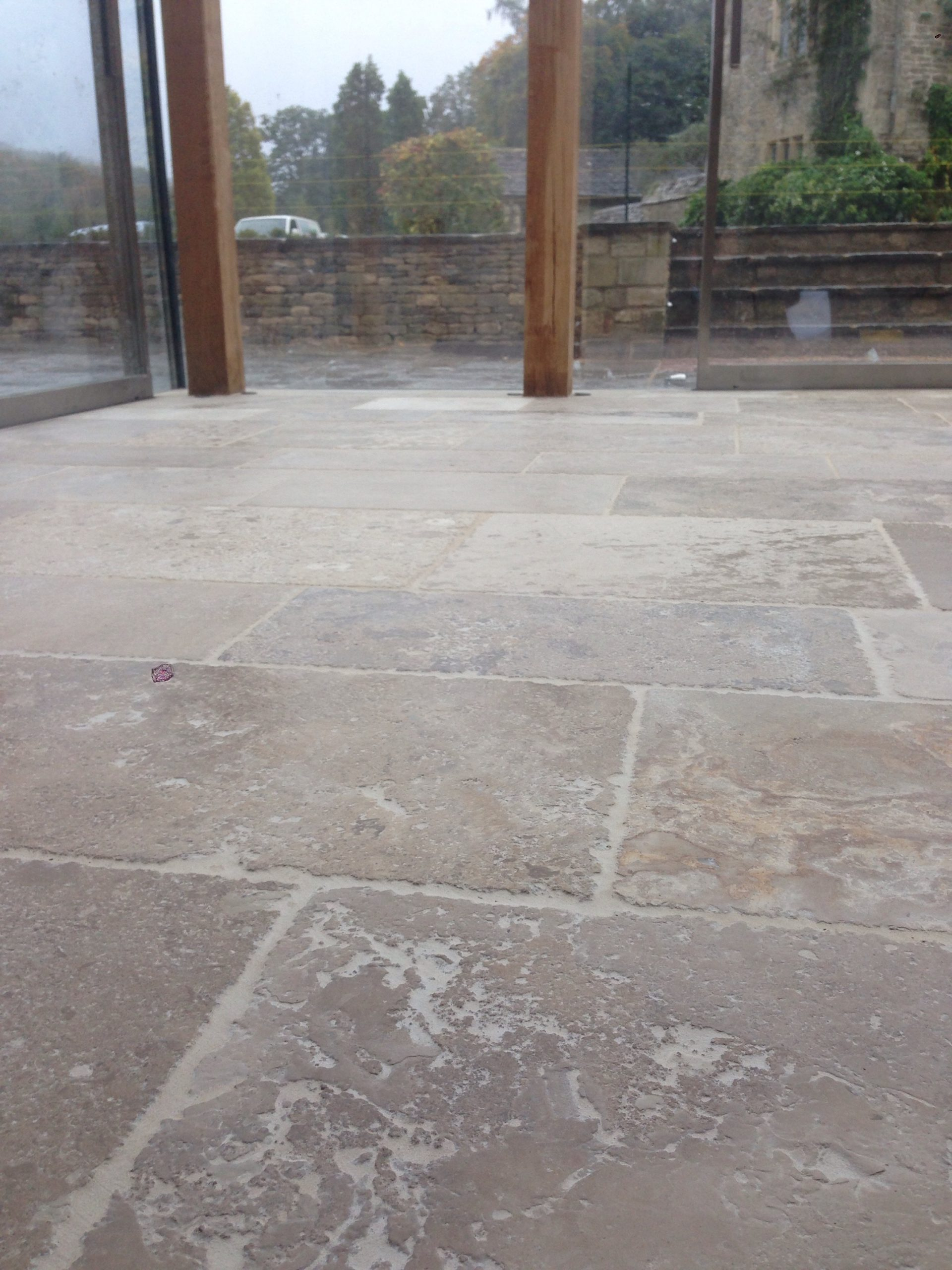 Cleaners archives cotswold stone floor cleaners limestone fully sealled but looking a little dry dailygadgetfo Images