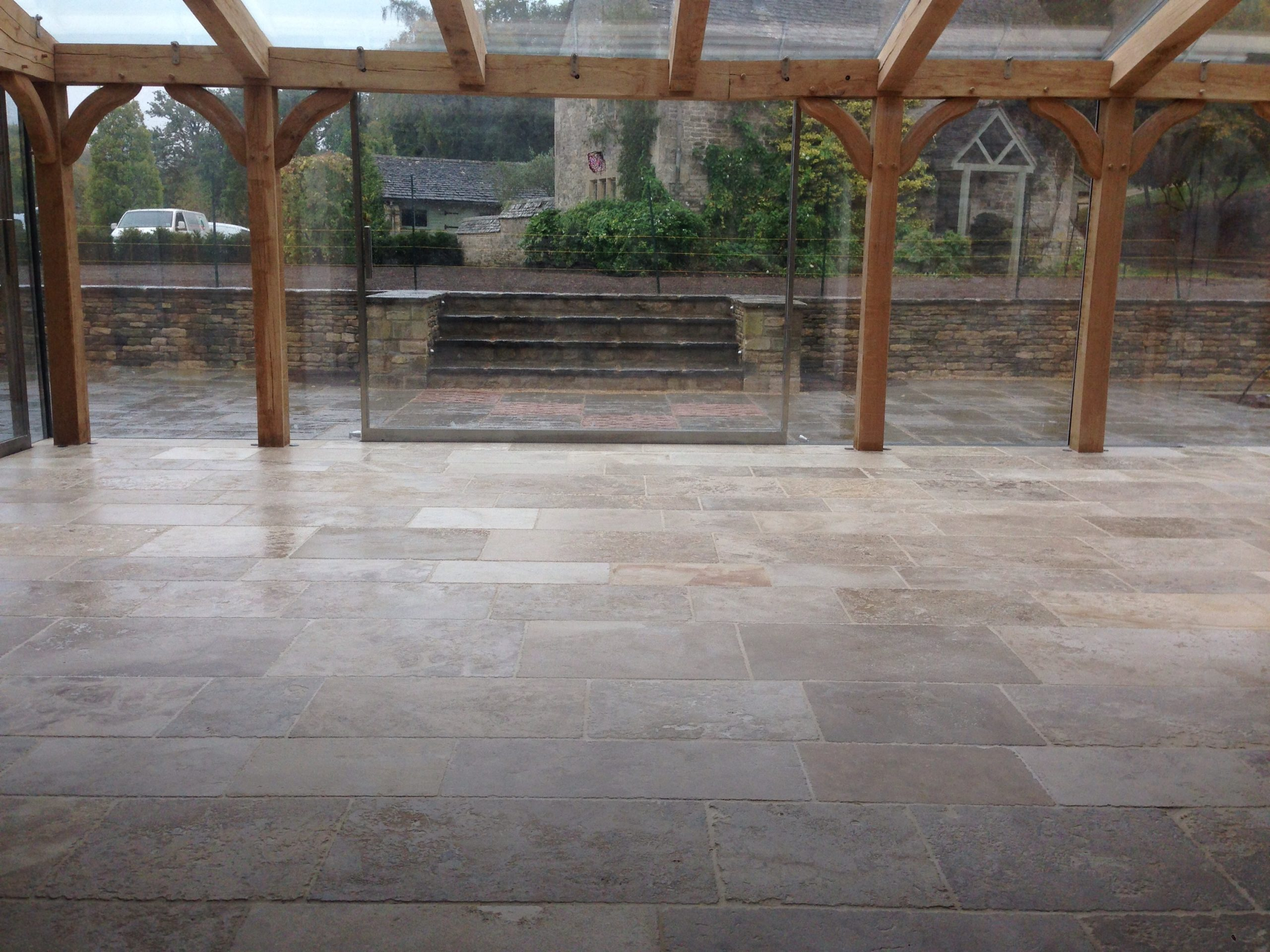 Sealing limestone treated tiles closest to the glazing dailygadgetfo Images