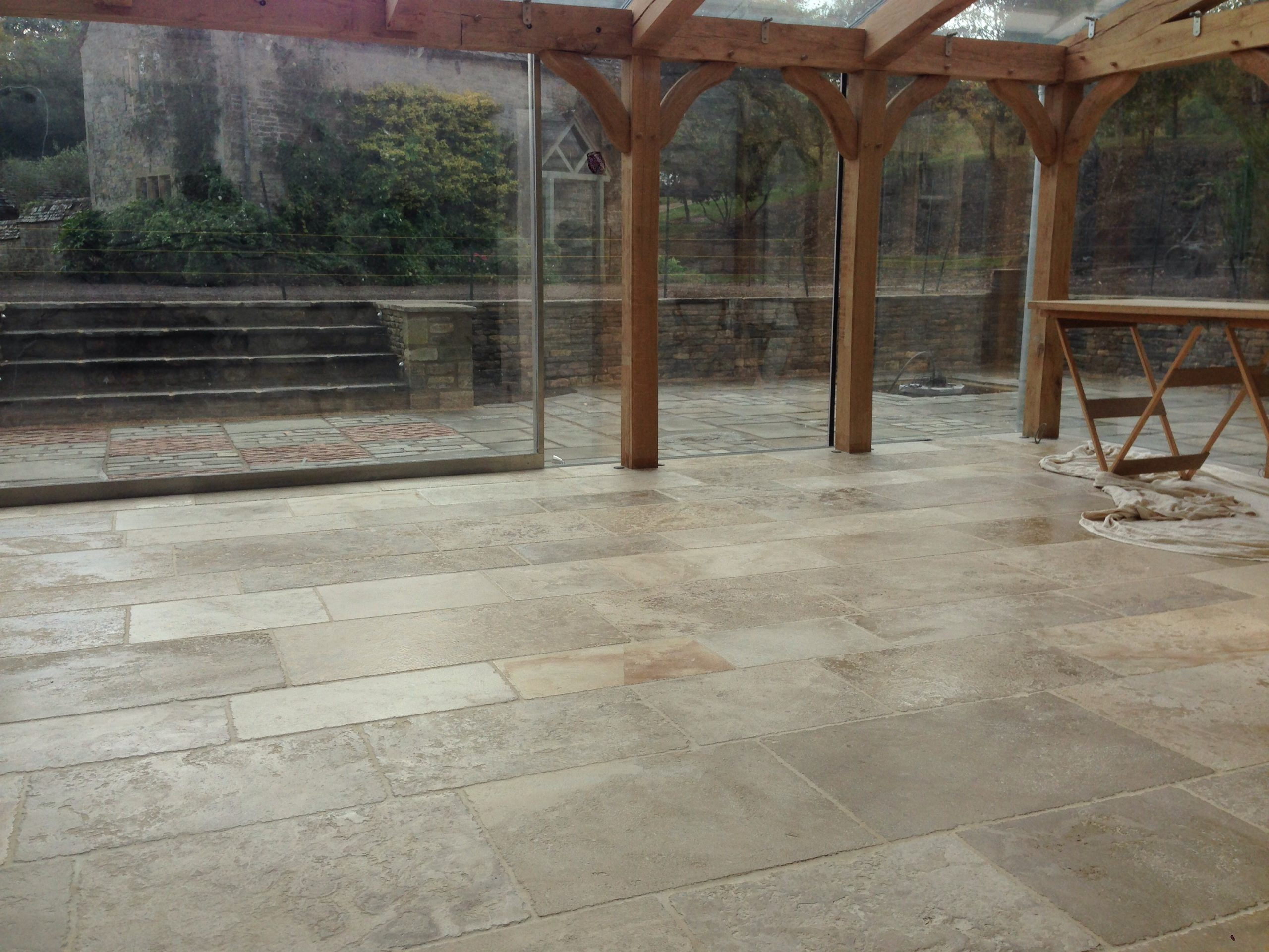 Cleaners archives cotswold stone floor cleaners treated tiles closest to the glazing dailygadgetfo Images