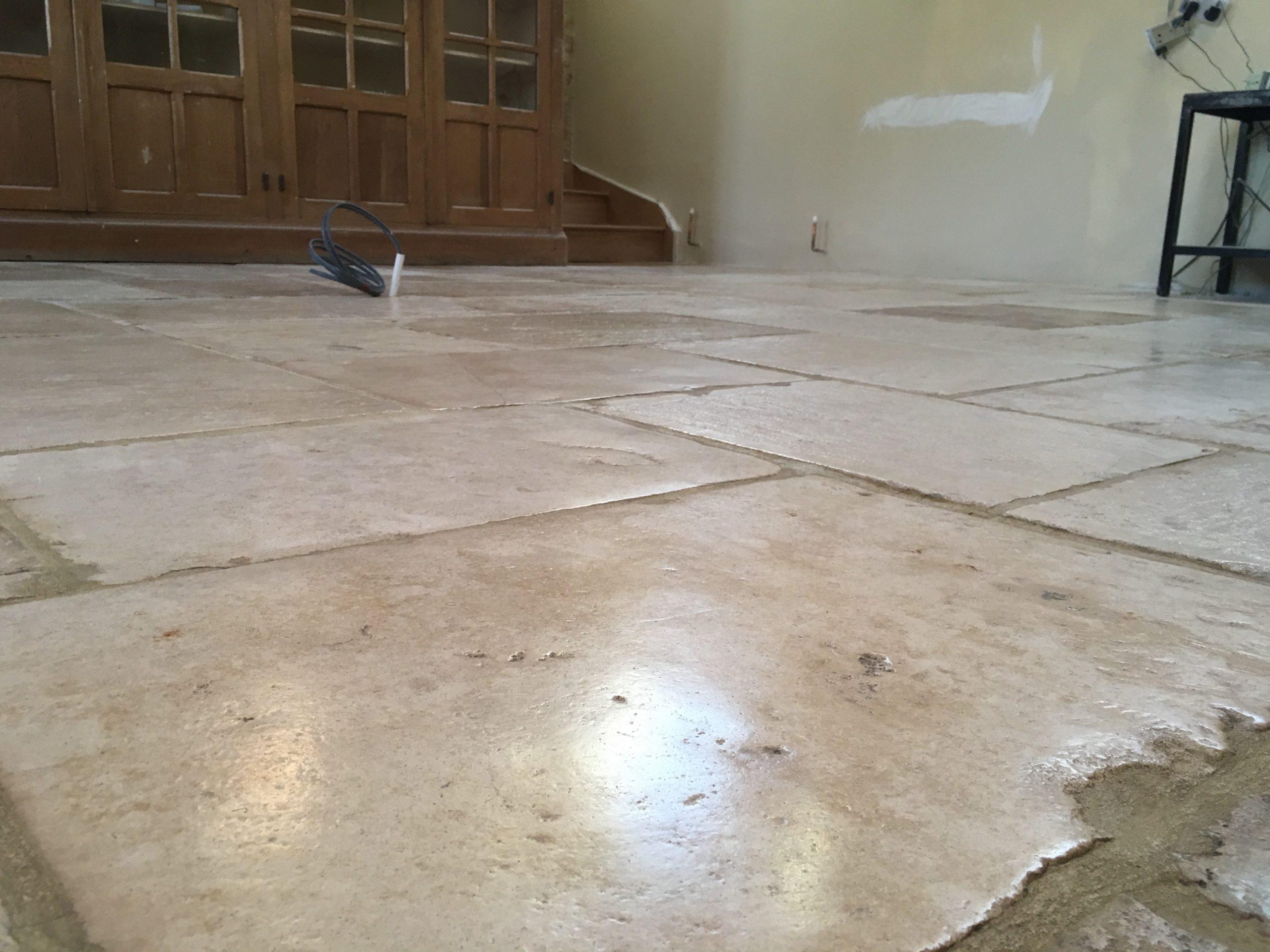 Sealing polishing flag stones cotswold stone floor cleaners polished flag stones dailygadgetfo Images